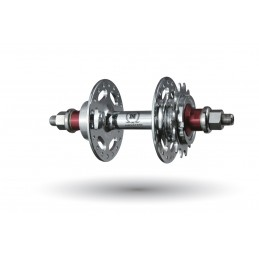 Novatec A186SBT galinė stebulė fixed-free