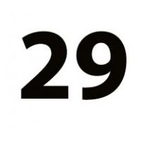 """Ratų dydis: 29"""""""