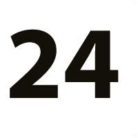 """Ratų dydis: 24"""""""